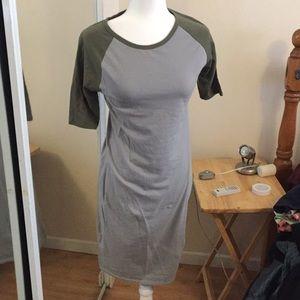 M NWOT LuLaRoe Julia Dress A05 44